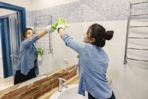 Čiščenje kopalnice